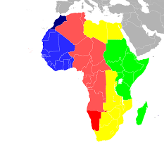 Time Zones Map United States by Daylight Saving Time In Africa Wikipedia
