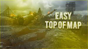 Top Spot Maps New Easy Top Of Map Hiding Spot On Pointe Du Hoc Wwii Multiplayer
