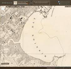 Google Map San Francisco by David Rumsey Historical Map Collection Georeferencer Added To