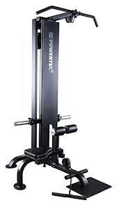 Powertec Weight Bench Amazon Com Powertec Fitness Lat Machine Black Sports U0026 Outdoors