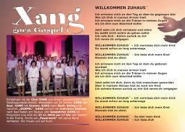 Bad Soden Am Taunus 1 Advent Gospelkonzert In Bad Soden Am Taunus Mit Xang Aus