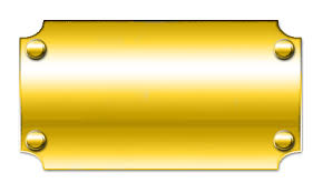 gold name plate blank nameplate by fluidgirl82 on deviantart
