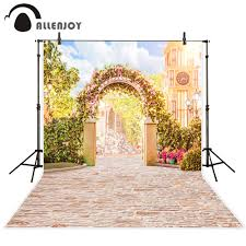 wedding backdrop size aliexpress buy allenjoy custom size backdrops wedding studio