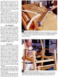 patio chair plans u2022 woodarchivist