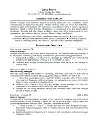 facilities manager resume objective best operations templates