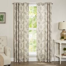 Half Door Curtain Panel Paisley Curtains You U0027ll Love Wayfair