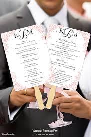Wedding Program Fans Diy 47 Best Wedding Program Fans Diy Printable Templates Images On