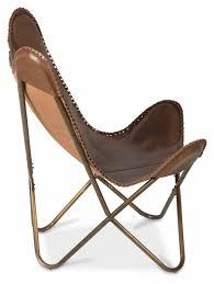 leather butterfly chair leather butterfly chair with antique brass frame april u0026 oak