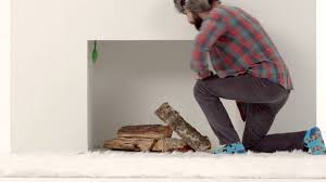 this is how close fireplace flue youtube