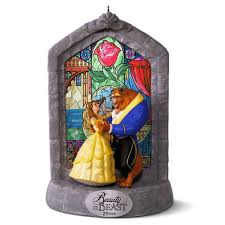 disney and the beast 25th anniversary musical ornament
