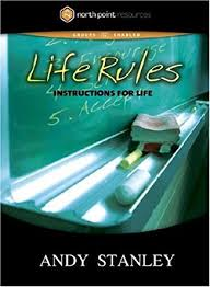 amazon com life rules instructions for life andy stanley
