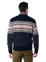 gant men u0027s christmas wool fairisle crew sweater style 85664