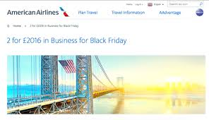 airline tickets black friday black friday british airways american airlines business class