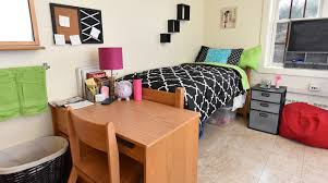 College Dorm Tv First Year Housing Residential Life Franklin Pierce University