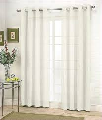 Furniture Magnificent Patterned Sheer Window Panels Drapery