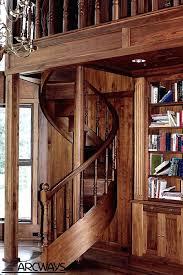 Wooden Spiral Stairs Design Wooden Spiral Staircase Ohfudge Info