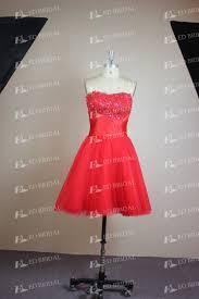 wholesale red cocktail dress real sample puffy tutu off shoulder