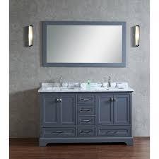 art bathe lily 55 white bathroom vanity solid hardwood regarding