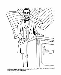 united states symbols coloring pages abraham lincoln coloring page ss patriotic pinterest abraham
