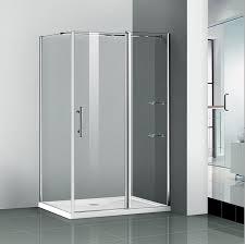 Shower Doors Ebay 1200x700mm Walk In Shower Enclosure Pivot Door Frameless Glass