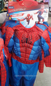 spirit halloween spiderman teetot childrens role play halloween costume costco weekender