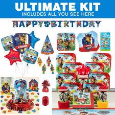 paw patrol birthday party ultimate tableware kit paw patrol