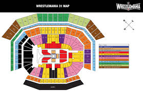 Metlife Stadium Map Wrestlemania 31 Presale Password Roundup Squaredcircle