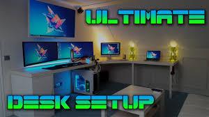 ultimate desk setup tour 2016 youtube