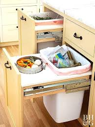 kitchen bin ideas recycling pull out kitchen bin 2 light grey bins with dark lid and
