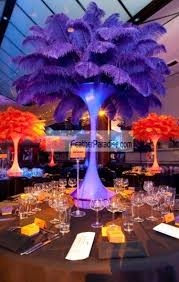 Ostrich Feathers For Centerpieces by Feather Plume Palm Tree Wholesale Cheap Bulk Discount Blue Royal