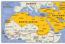 Map Of Southwest Asia And North Africa by Regional Knowledge Revised By Ryan Hamilton