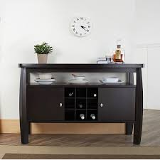 buffet table with fireplace furniture of america zarina dark espresso buffet table free with