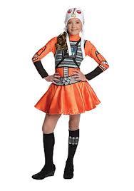 Teenage Halloween Costumes For Girls X Wing Fighter Tween Dress Costume