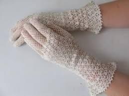 gant mariage gants de mariée vintage en crochet par la mariee