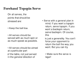 Topspin Table Tennis by Table Tennis
