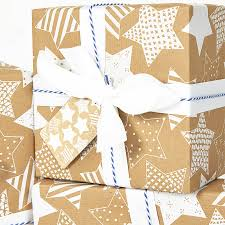 recycled christmas wrapping paper recycled white brown wrapping paper by