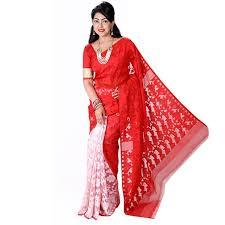 jamdani sharee eid exclusive muslin silk jamdani saree ts4844