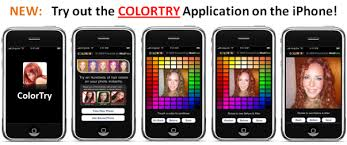 hair color simulator colortry realistic hair color makeover with one click
