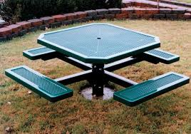 Commercial Picnic Tables by Site Amenities Recreation Unlimited