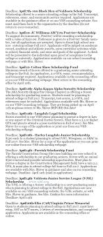 Guidance Counselor Brag Sheet Scholarships Counseling Valdosta High