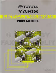 2008 toyota yaris repair service manual original set
