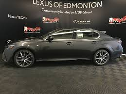 lexus gs350 f sport lowered new 2018 lexus gs 350 f sport series 2 4 door car in edmonton