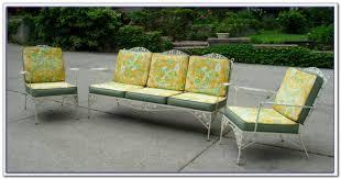 furniture green wrought iron patio furniture wrought iron patio