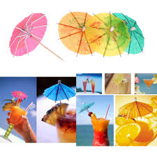 aliexpress com buy 50 pcs pack colorful mixed paper cocktail