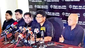 Gammanpila Reveals Black Clad Pivithuru Hela Urumaya Holds Confab At Pitakotte