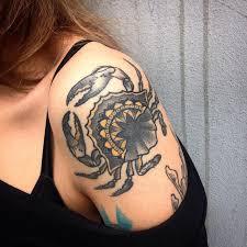 21 crab tattoo designs ideas design trends premium psd