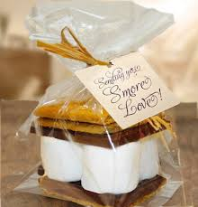 smores wedding favors wedding wands