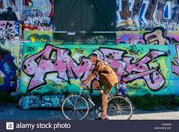 Wall Scenes by Copenhagen Denmark Street Scenes People Riding Bicycles