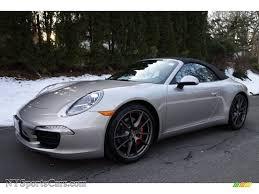 2013 porsche 911 s for sale 2013 porsche 911 s cabriolet in platinum silver metallic