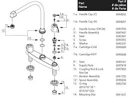 price pfister kitchen faucet parts diagram price pfister kitchen faucet parts snaphaven